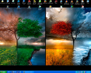 The Everchanging Desktop by Lemonachi