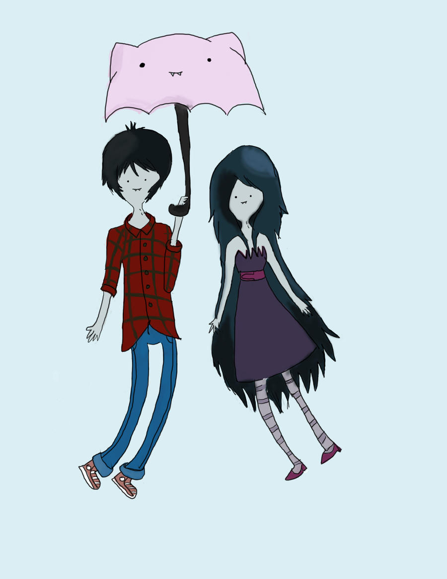 Marceline And Marshal Lee Wallpaper