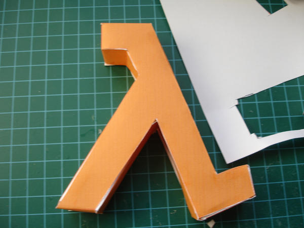 lamdba half-life logo photo by norgas
