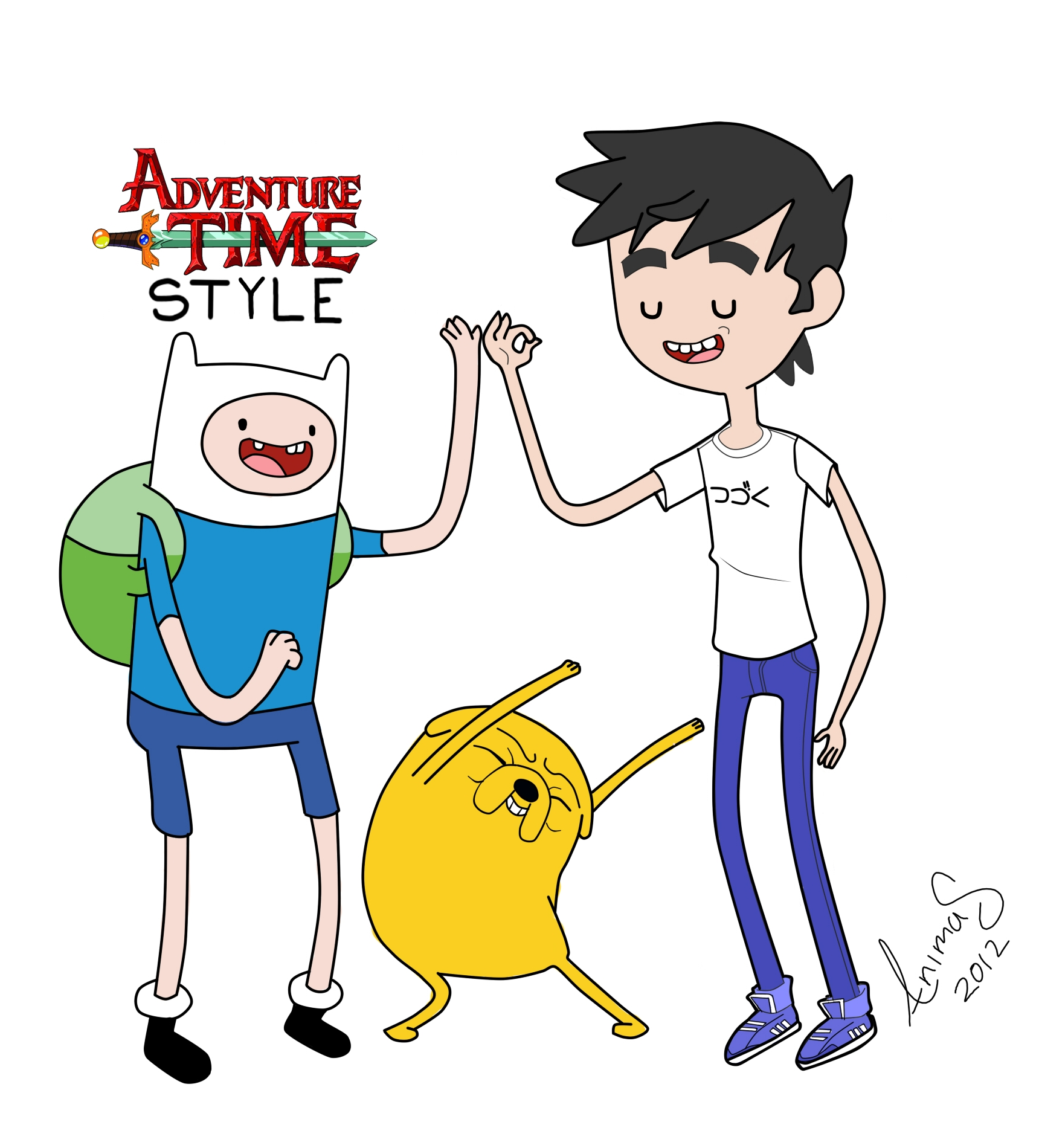 Adventure Time Drawing Style Adventure Time Art Sty...