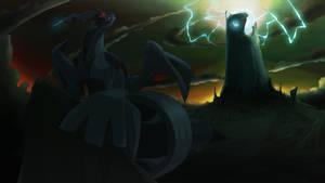 Zekrom's Necropolis by SwankyShadow