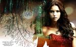 TVD: Elena wallpaper by e-transitions