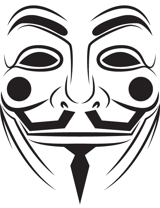 Guy fawkes mask by the umbra