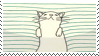 Sleepy Cat Stamp (f2u) by tanakass