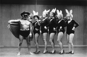 Playboy and Bunnies by isha-1