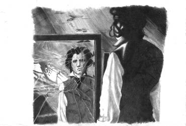 Sweeny Todd Pencil Sketch by Shaylinable