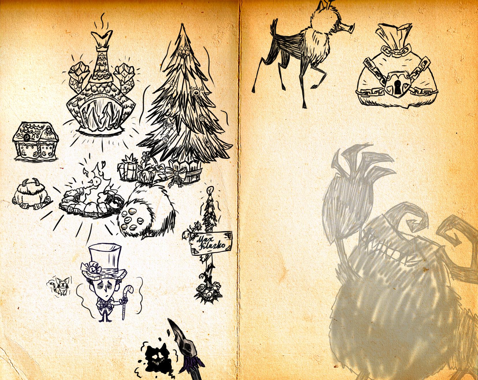 doodles__christmas_story_by_maximkluzko-