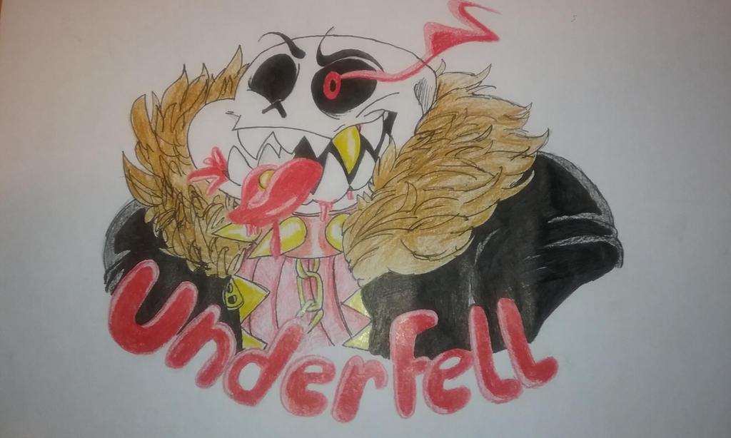 Underfell Sans by TheFlaimingHotCheeto