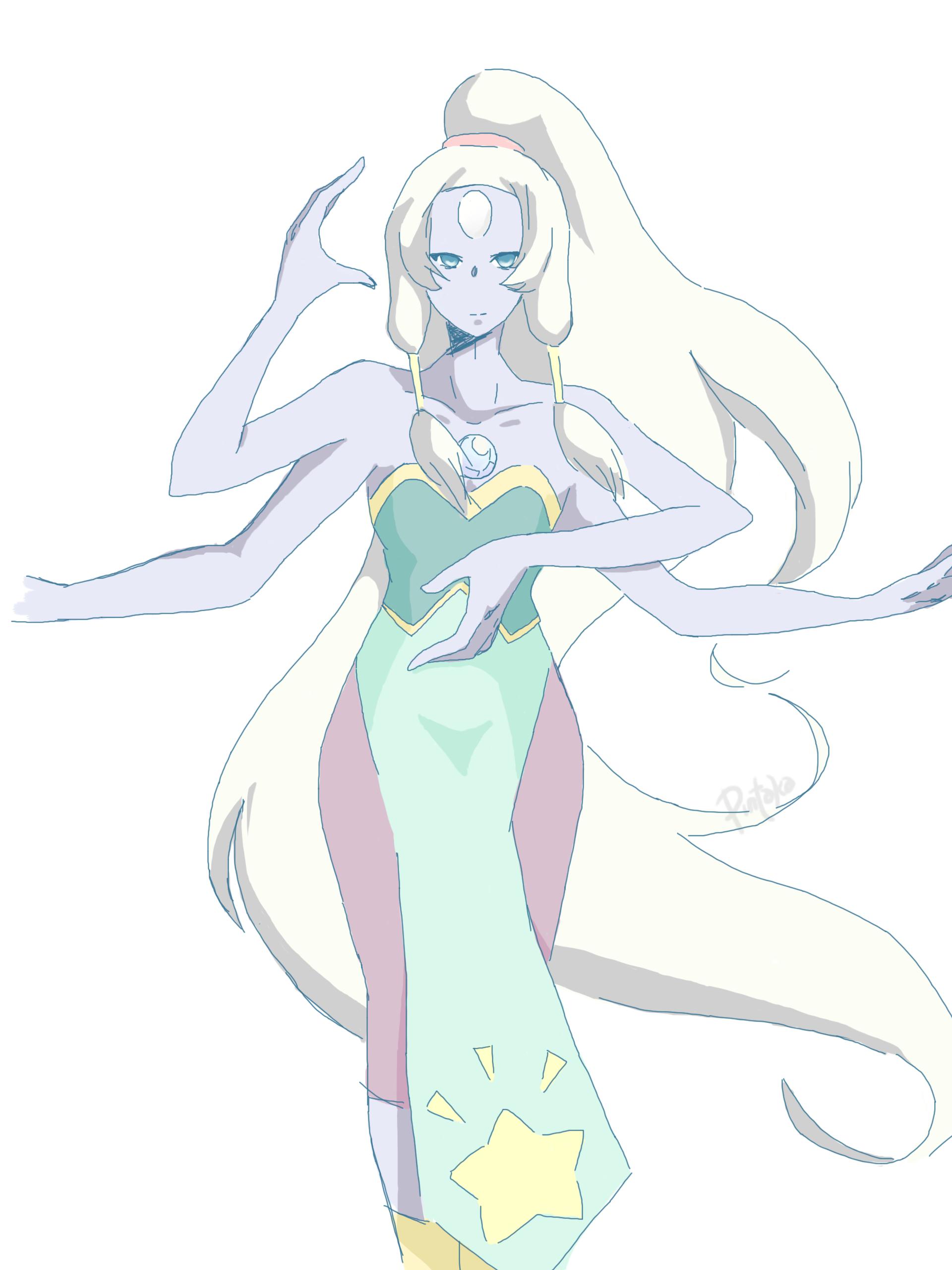 steven universe: opal by pintaka