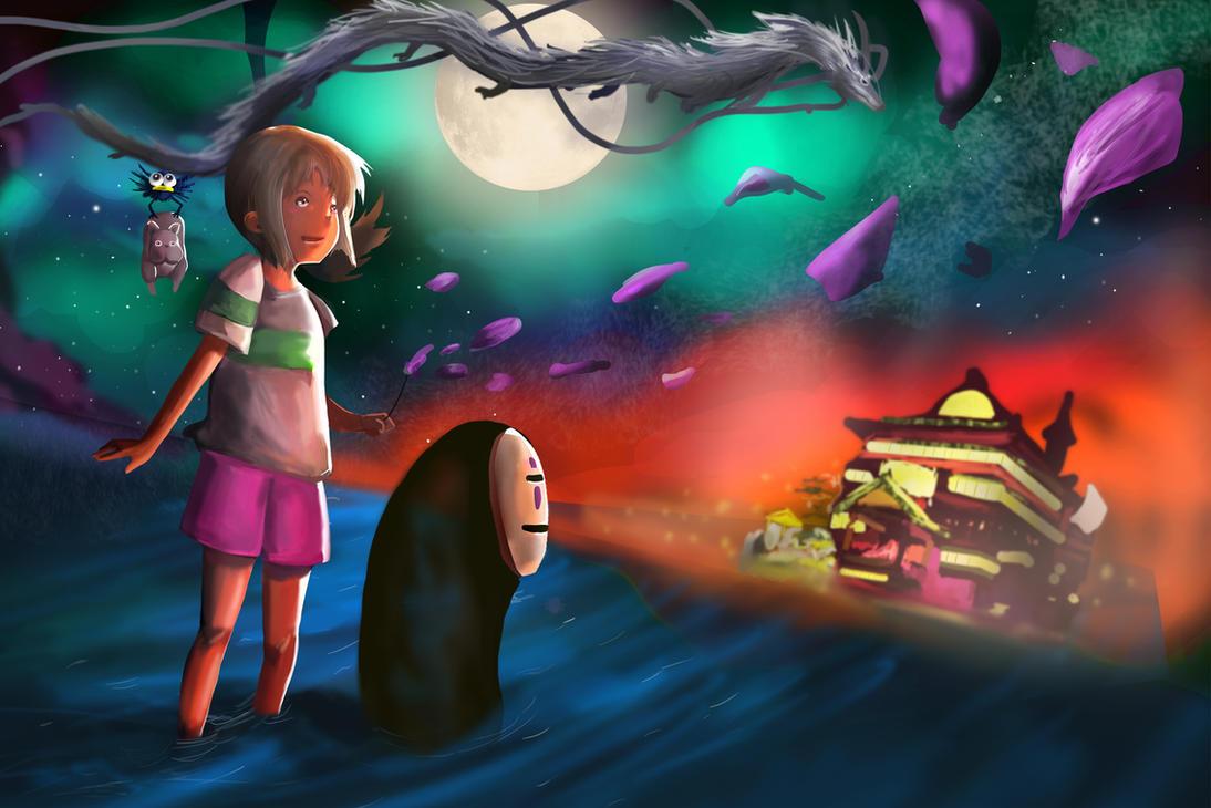 Chihiro's Starry Night by Daidus