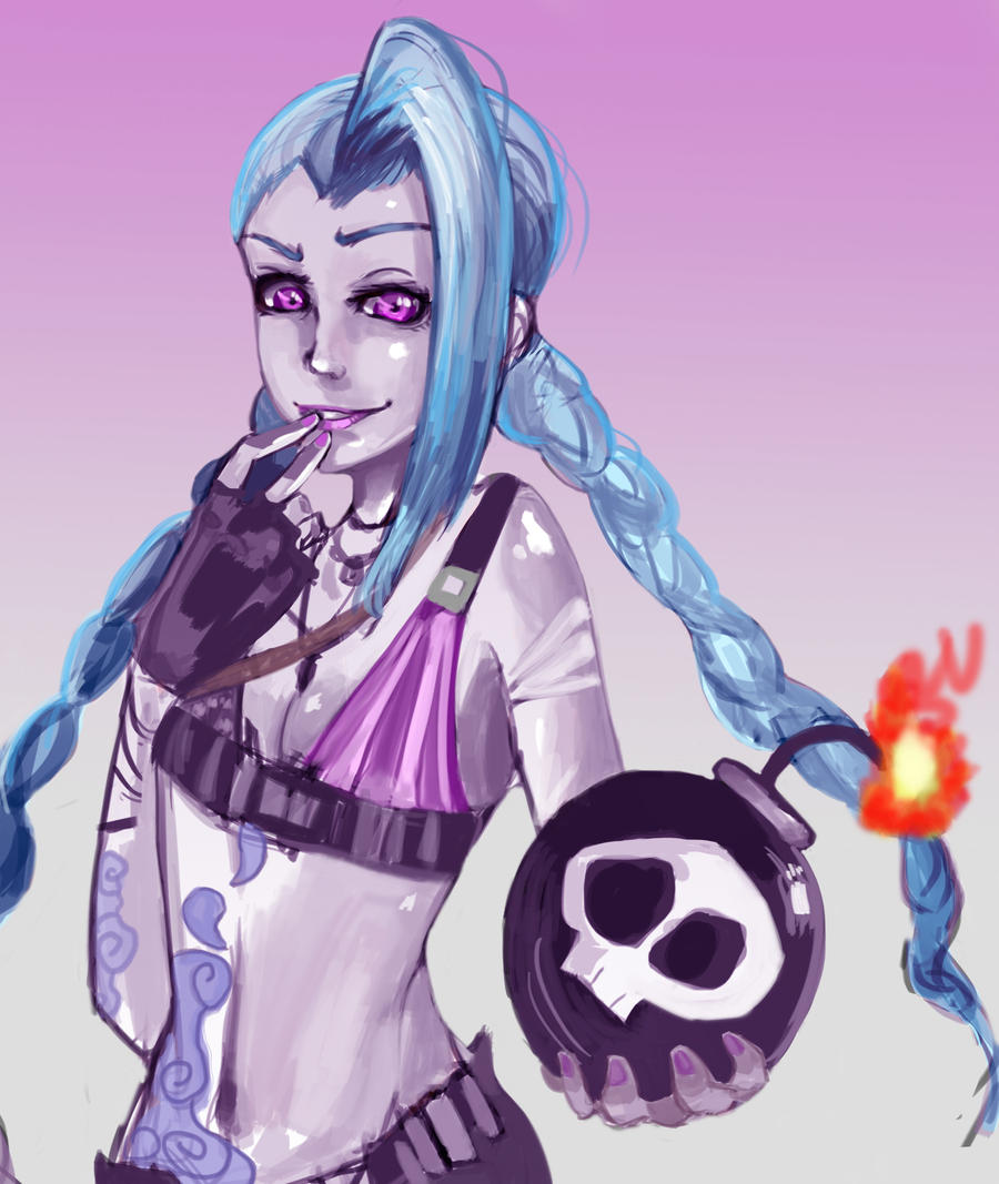 Jinx's Offering by Daidus