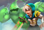 Riven and Zac by Daidus