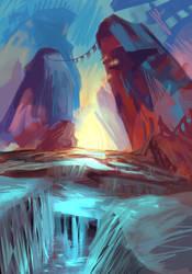 Landscape 3 (1 hr) by Daidus