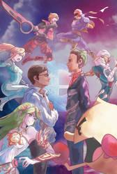 Smash4 friend commission by Daidus
