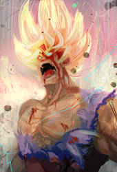 SSJ2 Goku fanart