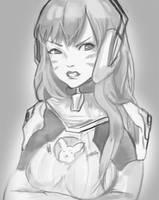 D.VA sketch by Daidus