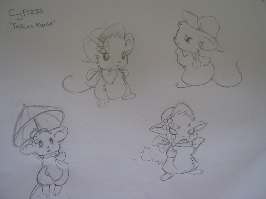 Mouse Chronicles Character sheet - Cypress by Arcane-Panda