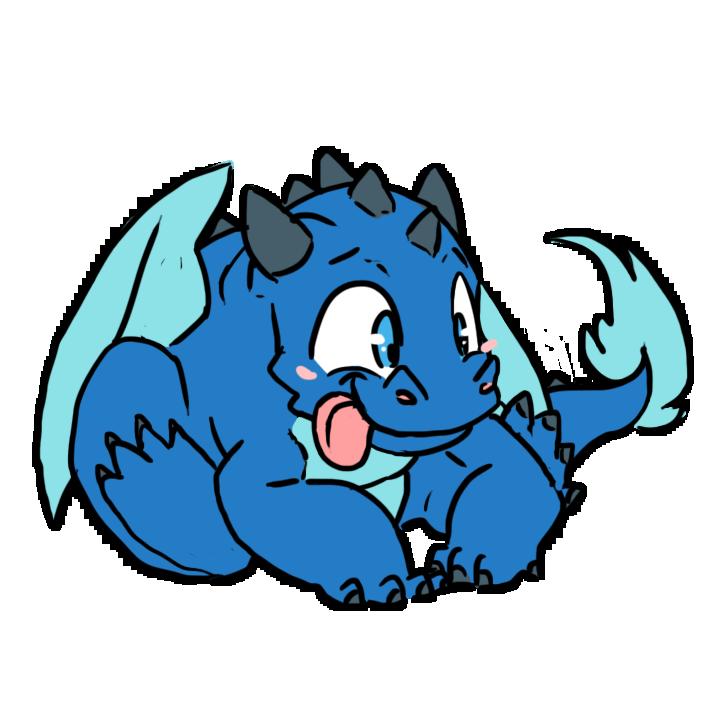 Derp Blue by HyperactiveInnocence