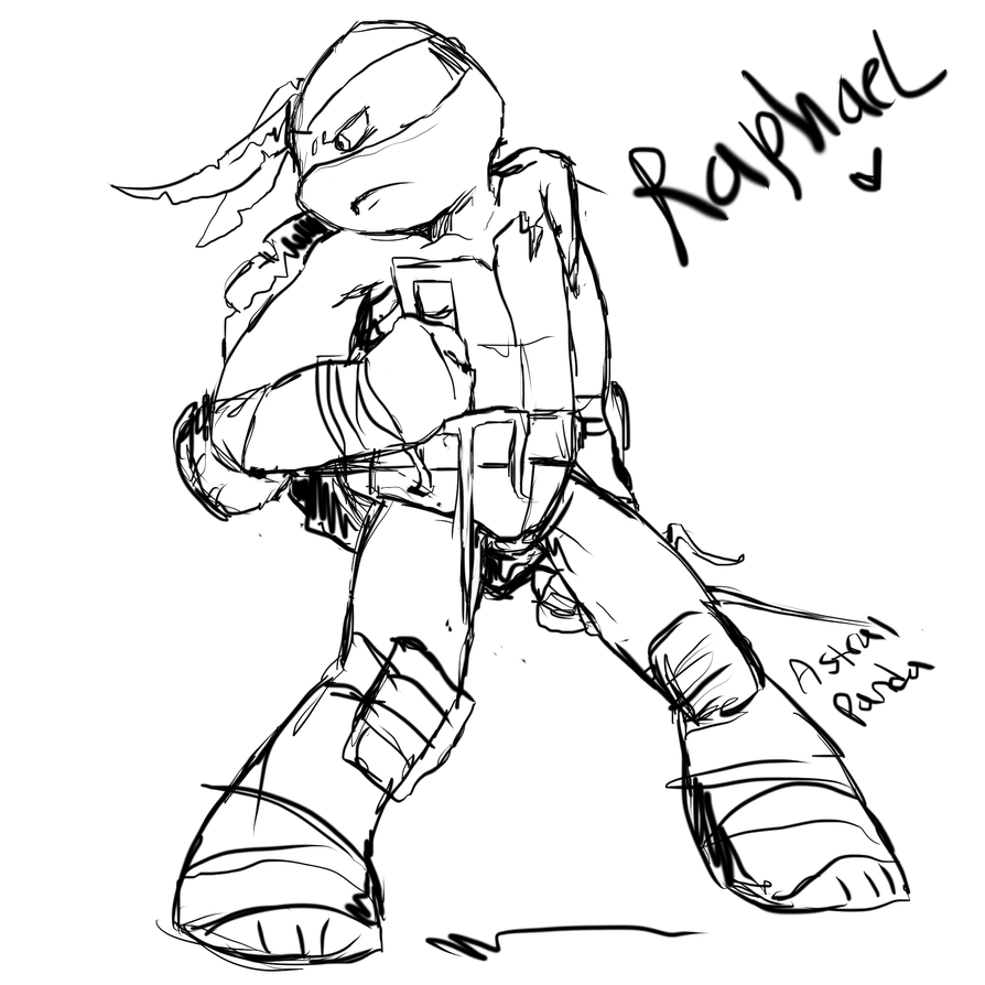 TMNT2012 Raph by Arcane-Panda