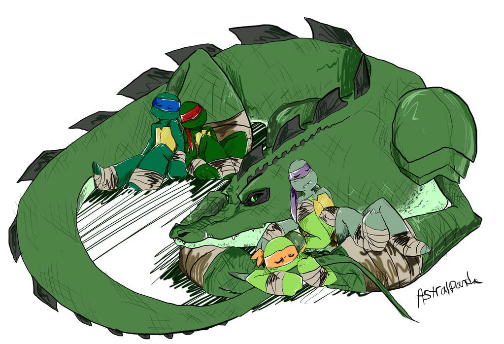 turtle guardian by Arcane-Panda