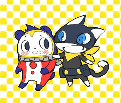 Just Dem Mascots of P4 and P5 :3