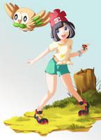 Trainer Selene - Pokemon Sun and Moon by Bicoitor