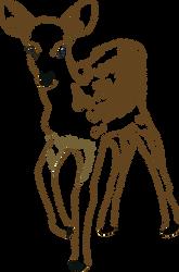Bambi by clandestine-stock
