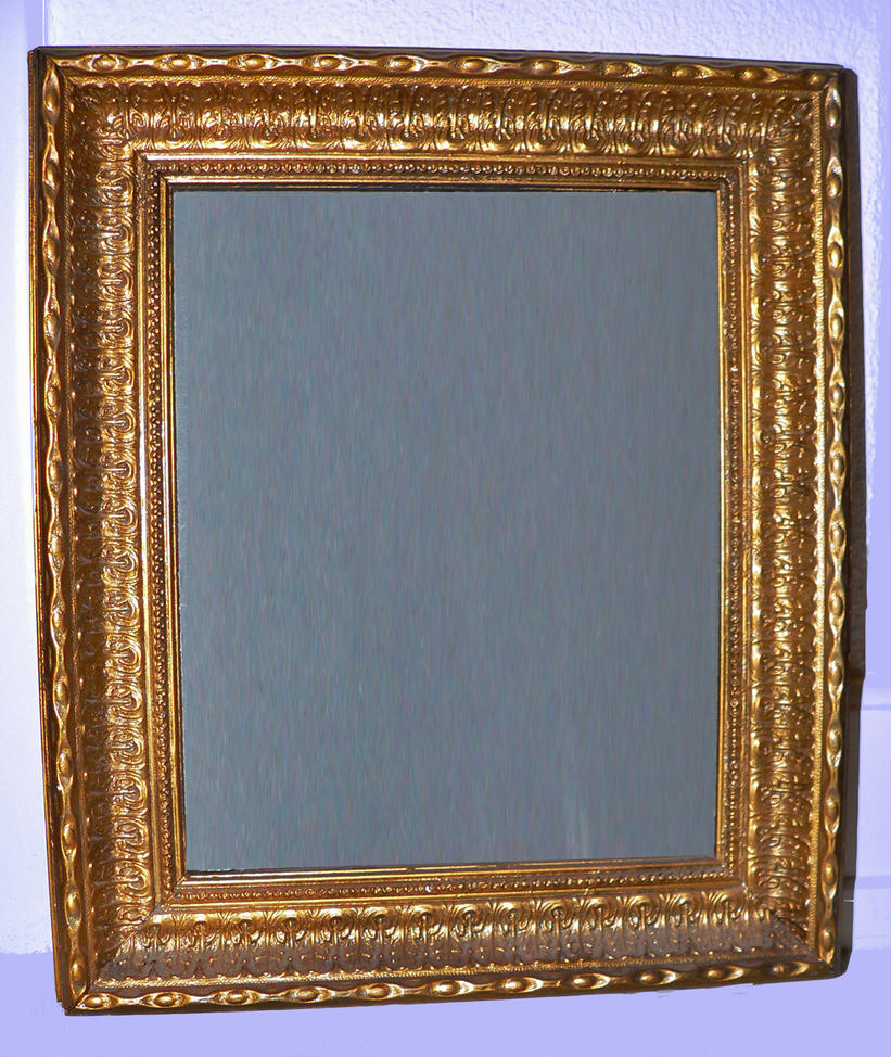 Antique style gold frame 3 by clandestine stock on deviantart for Small vintage style picture frames