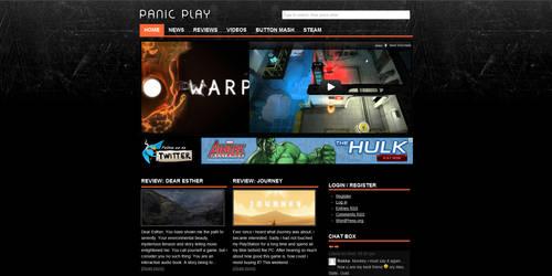 PanicPlay Wordpress Theme by Talis-Design