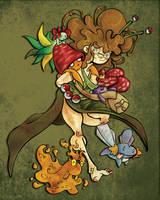 Pokemon trainer Nezu by nezumousii