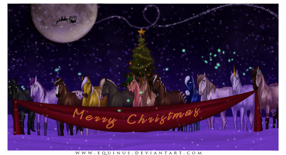 Christmas Magic Is All Around by Equinus