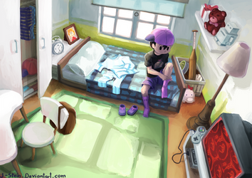 Room Ness by J-Stein