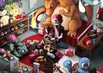 Room Pokemon Trainer Red