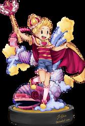 Super Amiibo Magical Girl Lucas by J-Stein