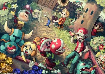 Smash Garden by J-Stein