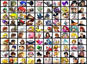 My Ideal SSB Roster by dbzgirl118