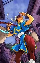 Chun Li by Edwin Huang Colors