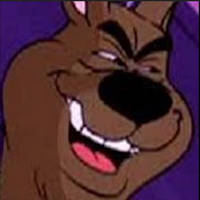 Menacingly Evil Scooby Doo by DelightfulDiamond7