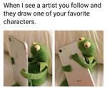 When I see a Artist meme