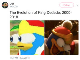 The Evolution Of King Dedede by DelightfulDiamond7