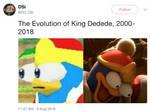 The Evolution Of King Dedede by DelightfulDiamond7