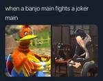 Banjo Mains Vs Joker Mains