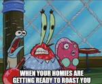 Mr Krabs Sweating Meme