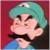 Mamma Luigi Face Emoticon