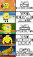 Bosses Difficulty In A Nutshell