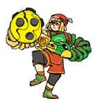 Arms Fanart - Champion Min Min