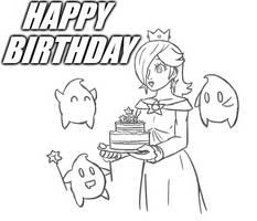 Rosalina Happy Birthday Drawing by DelightfulDiamond7