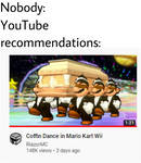Youtube Recommendations Meme