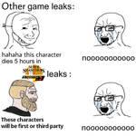 Smash Bros Ultimate DLC Leaks Meme