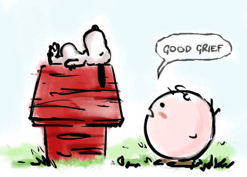 Kirby Brown And Snoopy